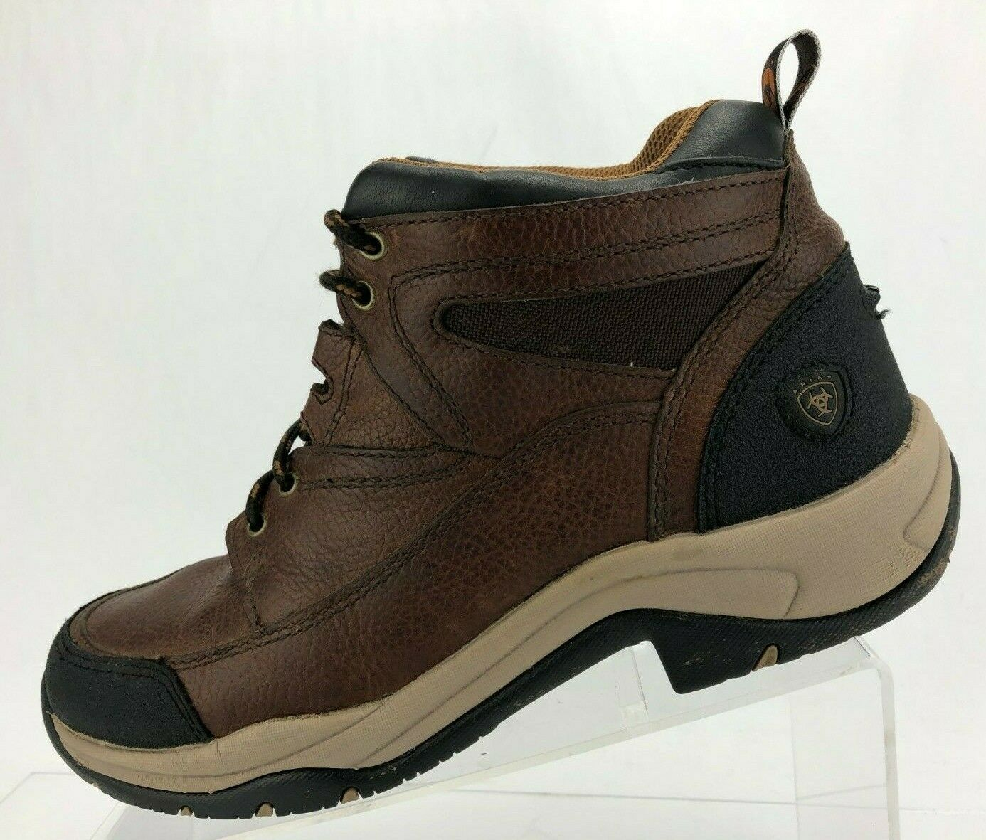 Ariat Ankle Boots Terrain Endurance Brown Lace Up Hiking Booties Womens US 10 B