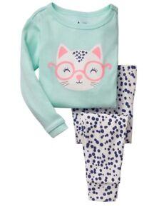 4e721961c Gap Cat Sleep Set Baby Toddler Girl Pajama Set BabyGap Sleepwear PJS ...
