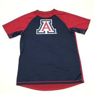 University Of Arizona WILDCATS Jersey Youth Size Large 14 / 16 Dry Fit Shirt Red