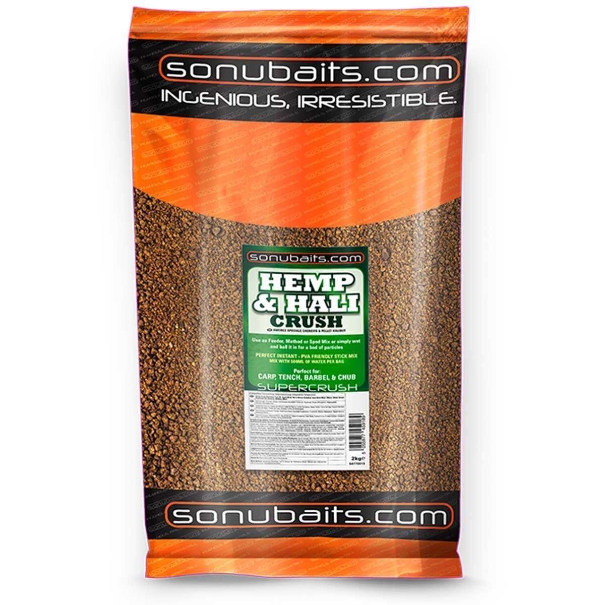 Sonubaits Hemp and Hali Crush Groundbait 10kg