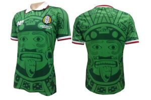 3ade47099838d Image is loading Hernandez-98-World-Cup-Mexico-Football-Soccer-Home-