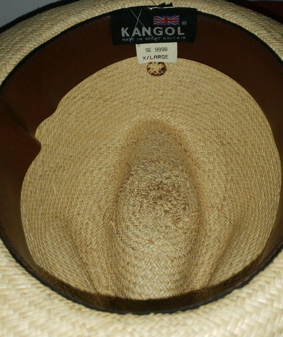 Vintage Kangol XL Straw Summer Hat - image 5