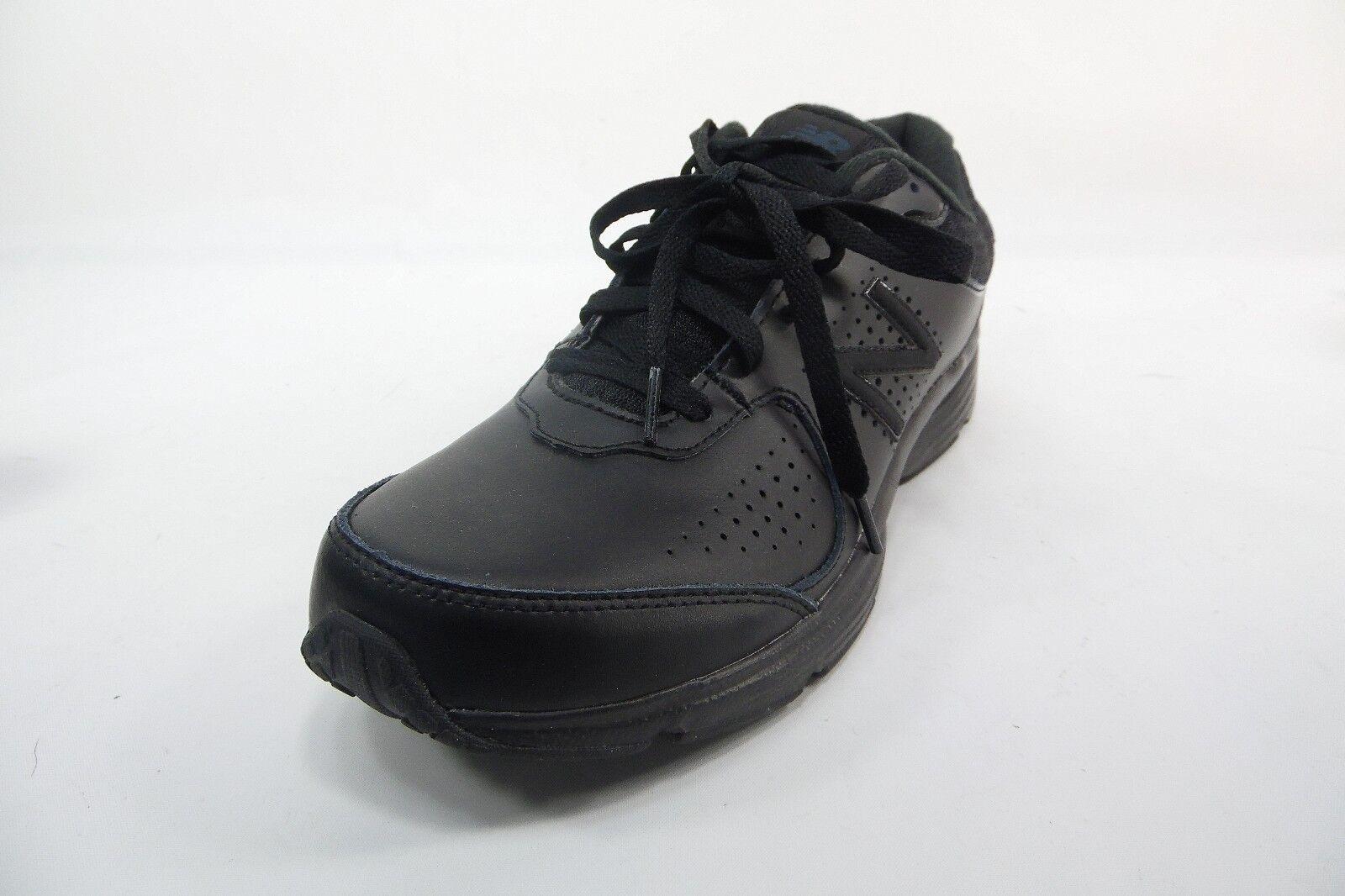 New Balance Men's MW411BK2 Walking shoes Sneakers Black Size 8.5 D