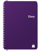 Academic Diary Planner 17-18. Week View, Day Per Page, 2 days Per Page. A5 & A4