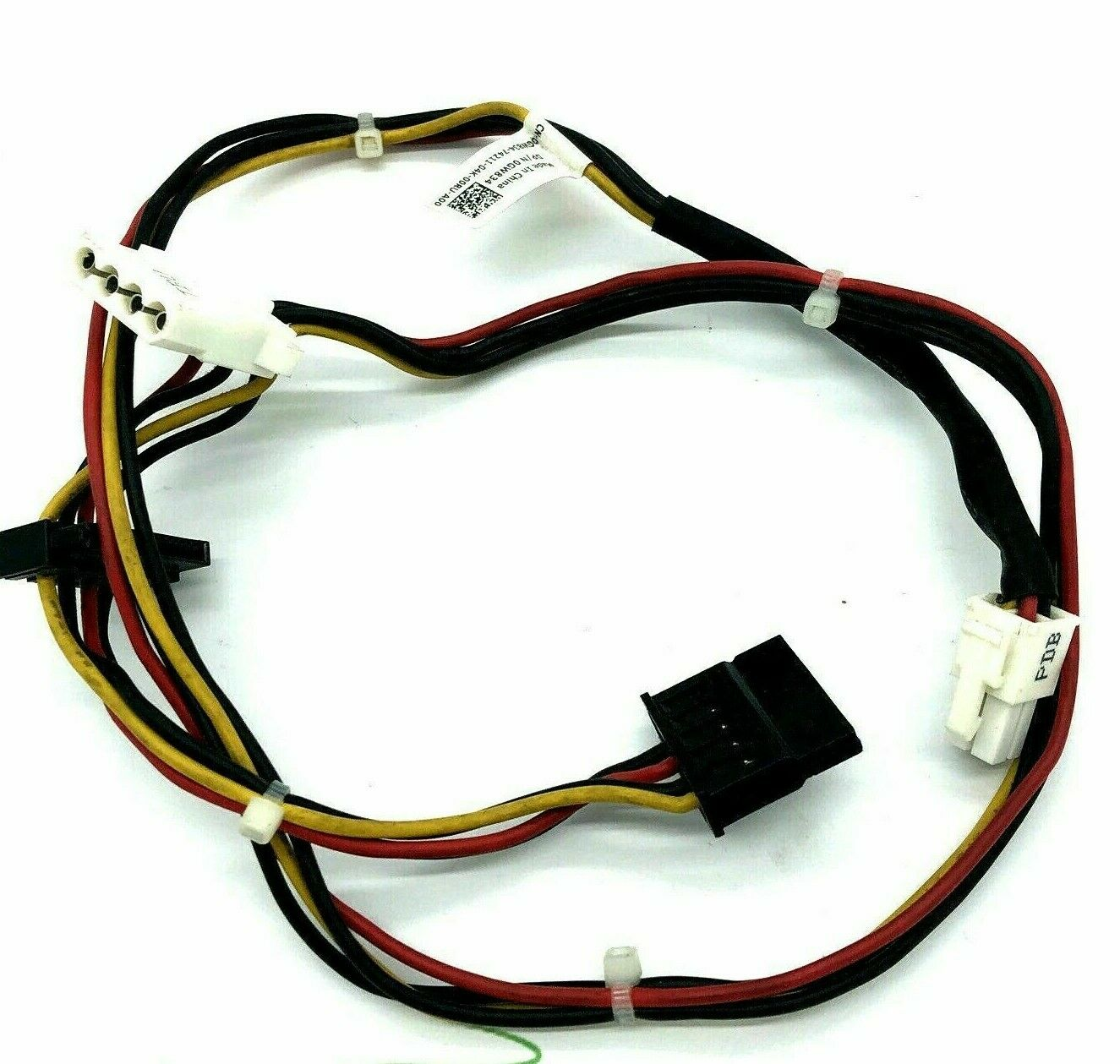 0GW834, GW834 DELL POWEREDGE T610 BACKPLANE 4-PIN AND 2 X SATA POWER CABLE