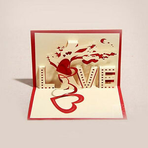 Three dimensional postcard 3d card diy creative paper cut cards image is loading three dimensional postcard 3d card diy creative paper m4hsunfo