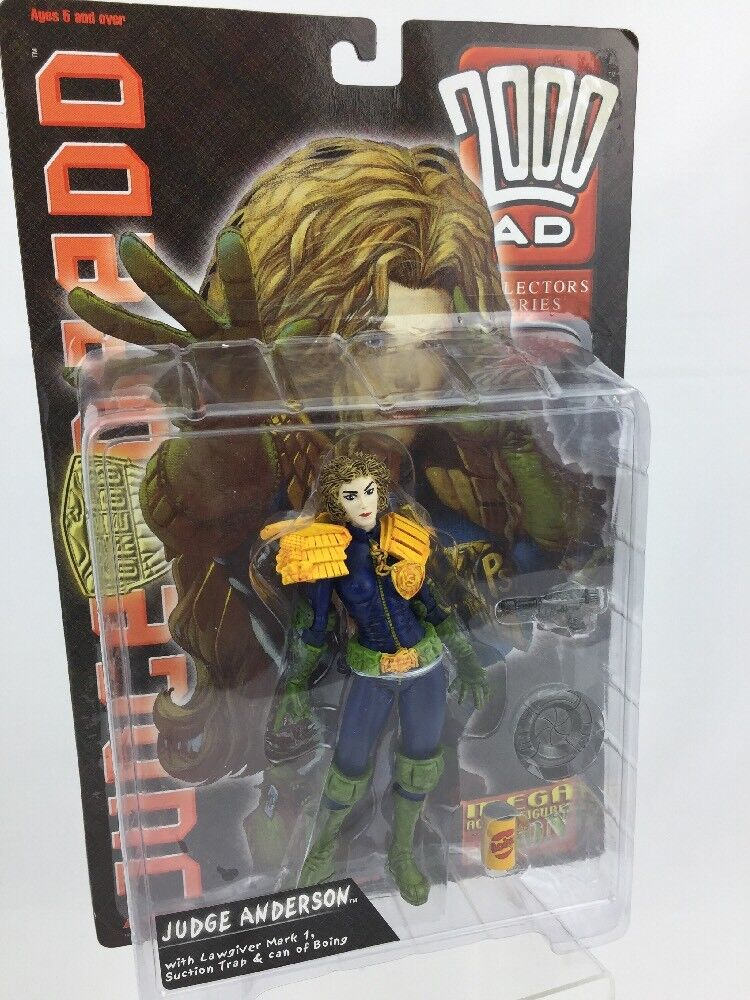 2000AD Judge DROTd - Judge Anderson Action Figure Series 1 NEW