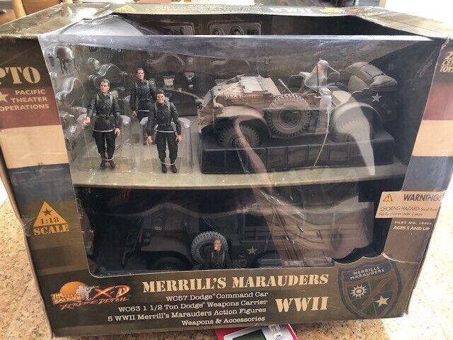 RARE ULTIMATE SOLDIER MERRILLS MARAUDERS 1 18 SCALE 22dade - tinta