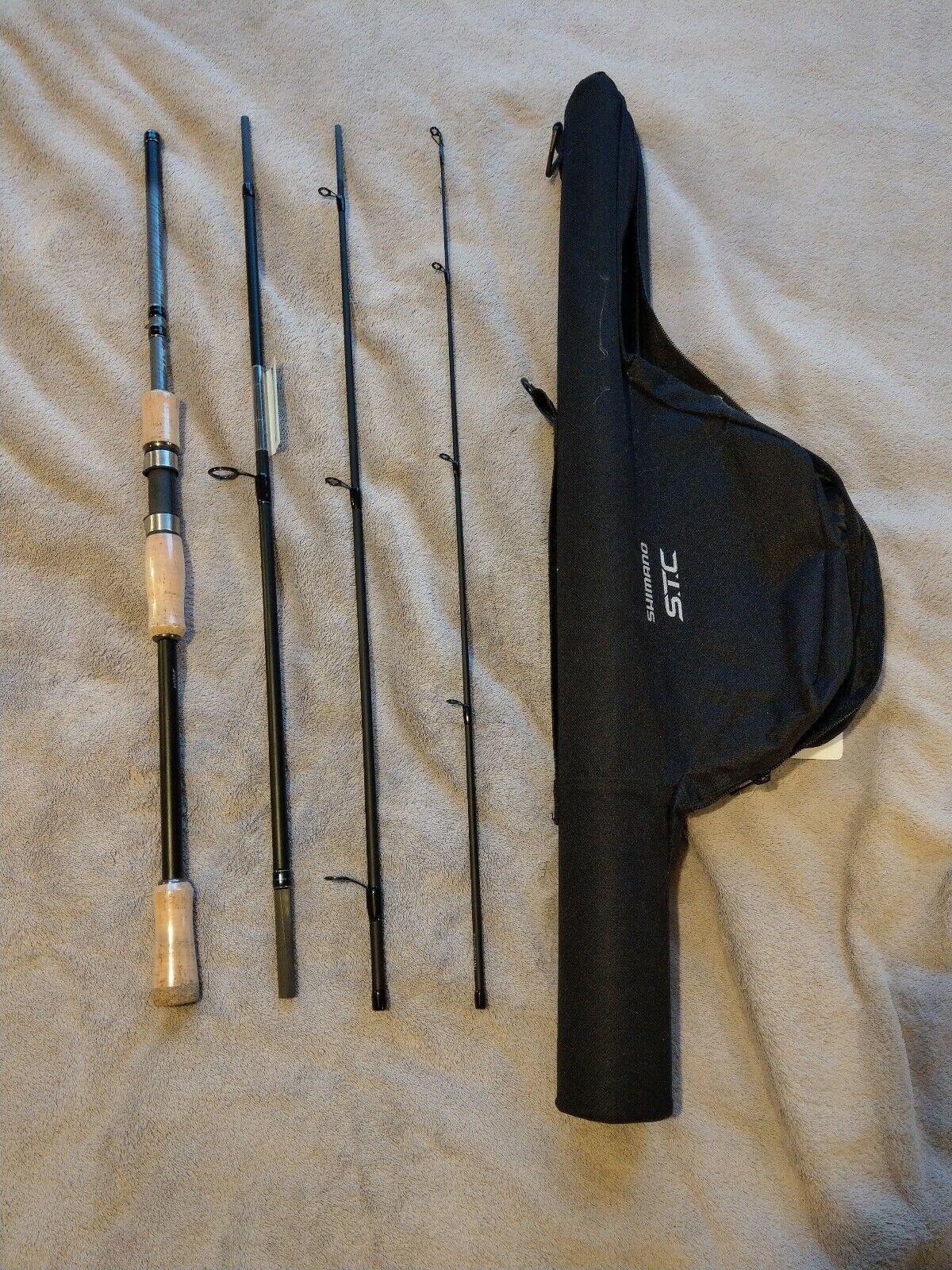Shiuomoo STC 240 M c.w 10-30g   Travel Spinning Fishing Rod