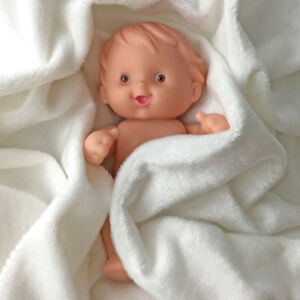 Lovely 1pcs Soft Silicone Mini Reborn Baby Dolls Babies Lifelike Birthday Gift Ebay