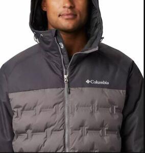 Columbia-Men-039-s-Big-amp-Tall-Grand-Trek-Down-Hooded-Jacket-Coat-Parka-6XL