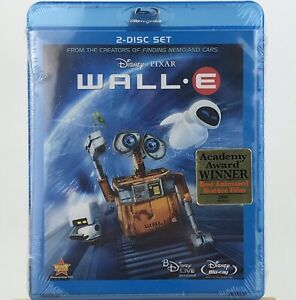 Wall-E (2-disc Blu-ray 2008, Widescreen) Disney Pixar New Sealed