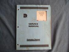 Komatsu Dresser Service Manual 1967 International Crawler Tractor Chassis 6 Amp 9
