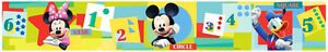 Borduere-Disney-Mickey-Mouse-Minnie-Mouse-Donald-Duck-Tapeten-Borte-Zahlen-Sterne