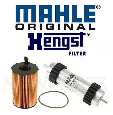 One New Hengst Fuel Filter H355WK for Audi A6 Quattro A7 Quattro A8 Quattro Q7