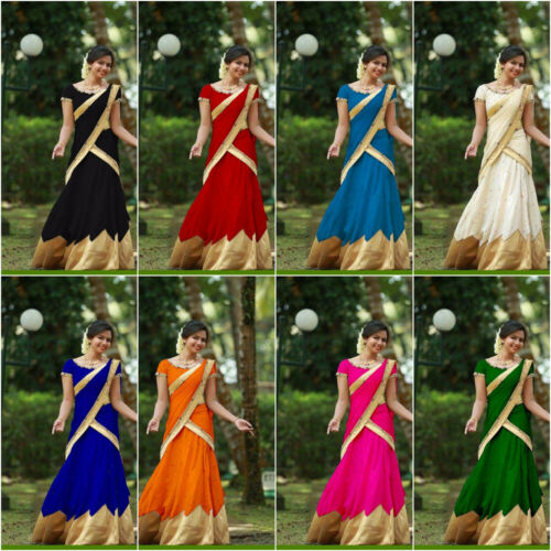 Groen wit hemelsblauw Indian blauw Exclusief Choli Desginer Giri zwart Bollywood Fancy Lehenga rood oranje roze 4xqO0vn
