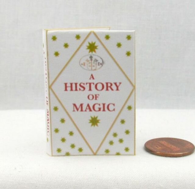 A HISTORY OF MAGIC Magical Textbook 1:6 Scale Readable Barbie Book Potter Wizard