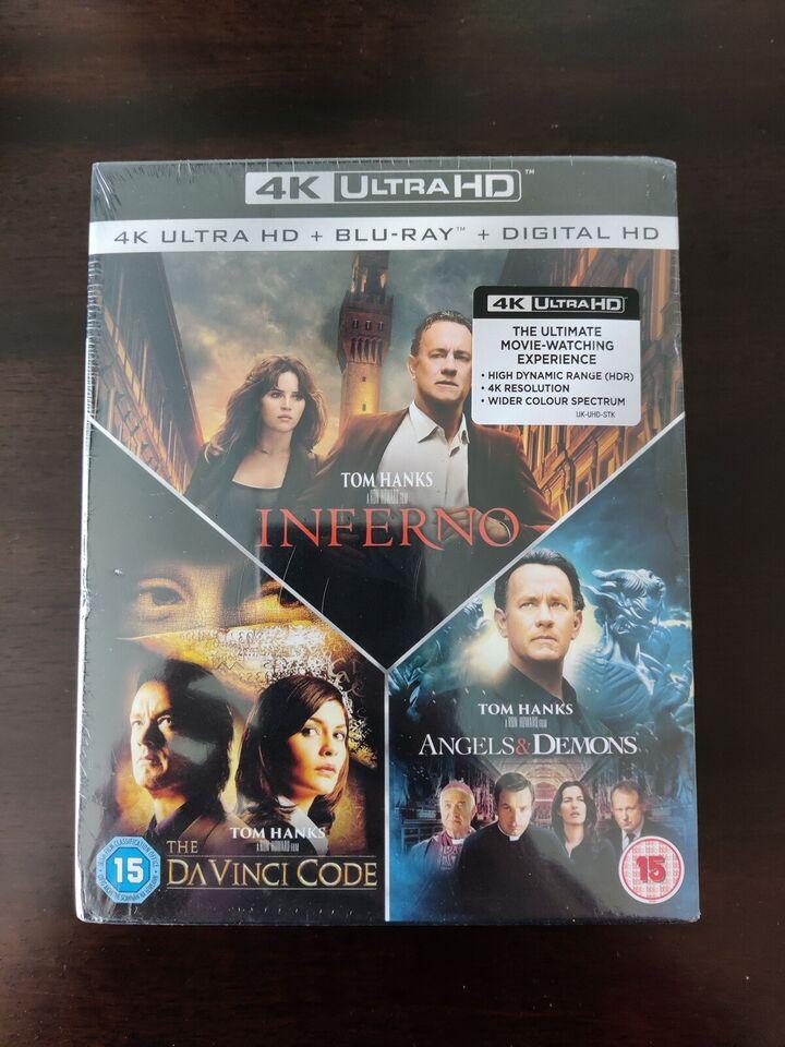 Da Vinci, instruktør Ron Howard, Ultra HD Blu-ray