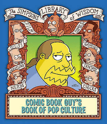 """""""AS NEW"""" Groening, Matt, The Comic Book Guy's Book of Pop Culture (The Simpsons"""