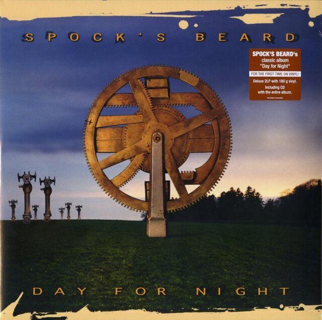 SPOCK'S BEARD DAY FOR NIGHT DOPPIO VINILE LP 180 GRAMMI + CD NUOVO