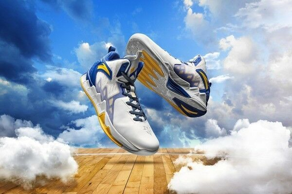 Anta KT2 NBA Golden states warriors basketball shoes for Klay Thompson 11641101