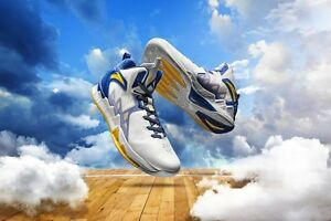 3385cb3afd08 Image is loading Anta-KT2-NBA-Golden-states-warriors-basketball-shoes-