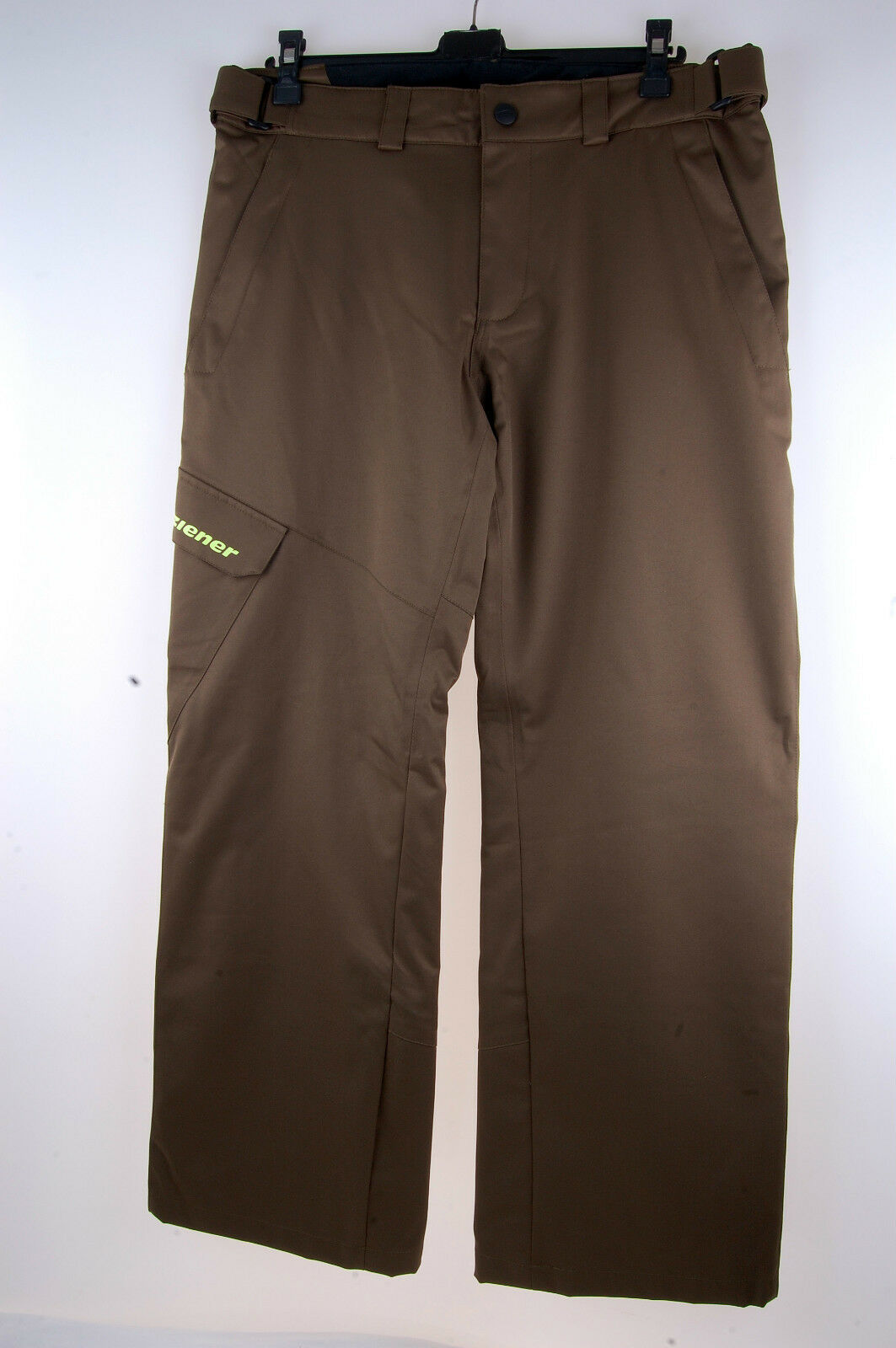 ZIENER Men's Ski Pants Teviot Aqua Shield 10.000 Olive 821 Size 50 NEW