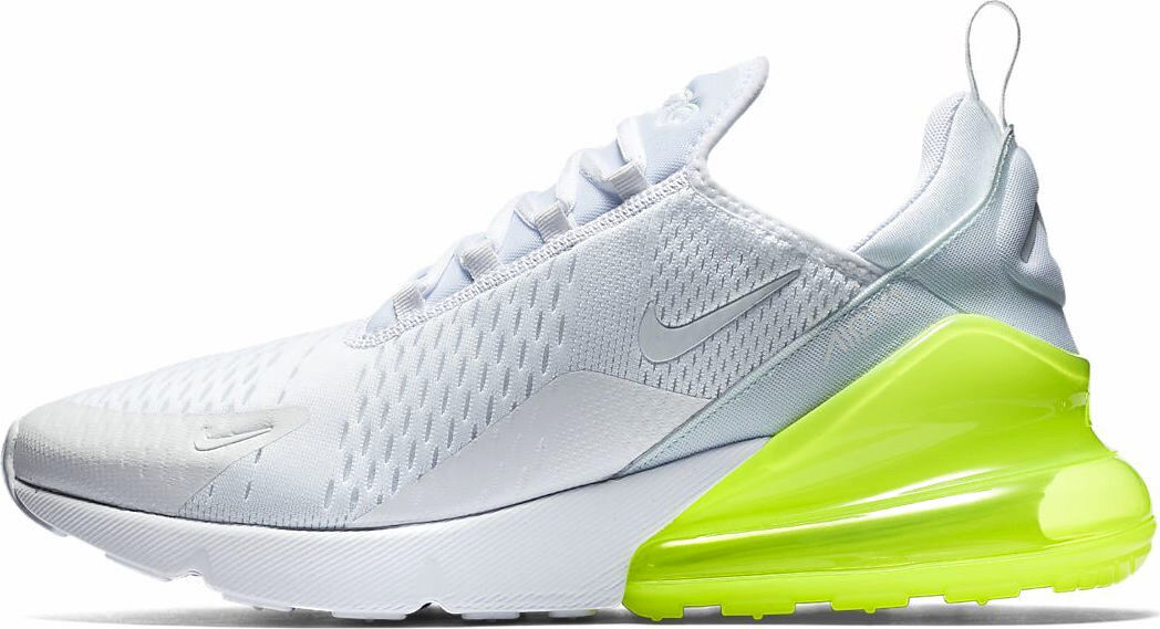 NIKE AIR MAX 270  VOLT PACK  WHITE SIZE 11 BRAND NEW FAST SHIPPING (AH8050-104)