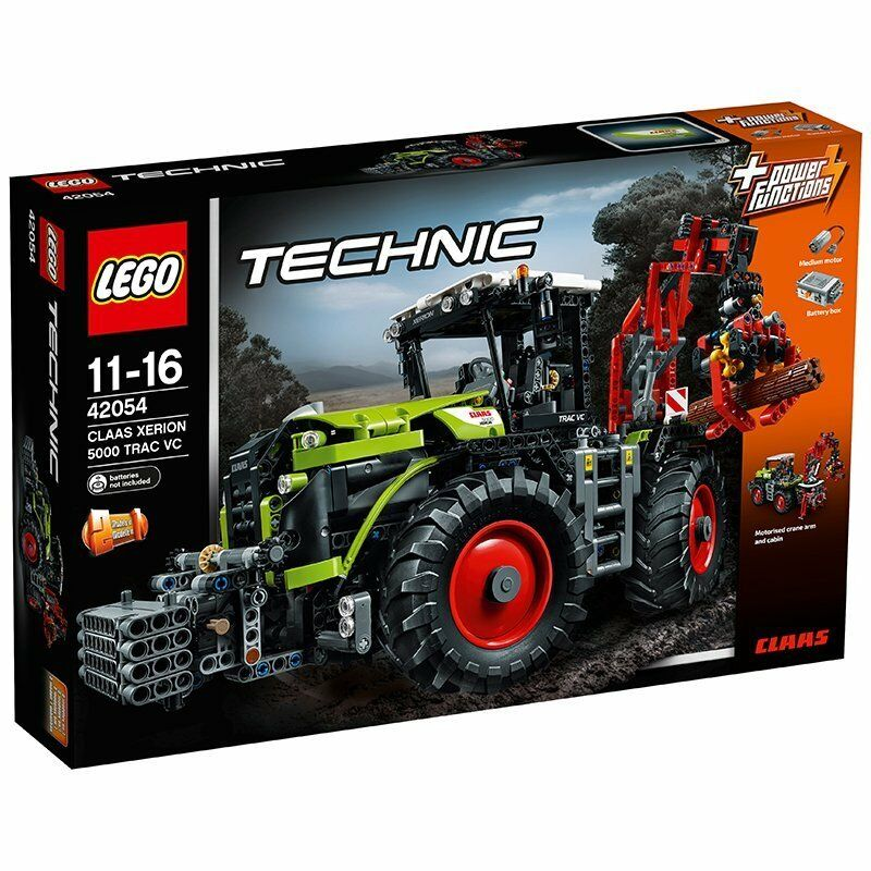 New LEGO Technic Claas Xerion 5000 Trac VC 42054
