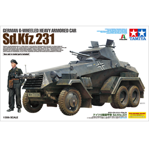 Tamiya-37024-German-6-Wheeled-Heavy-Armored-Car-Sd-Kfz-231-1-35