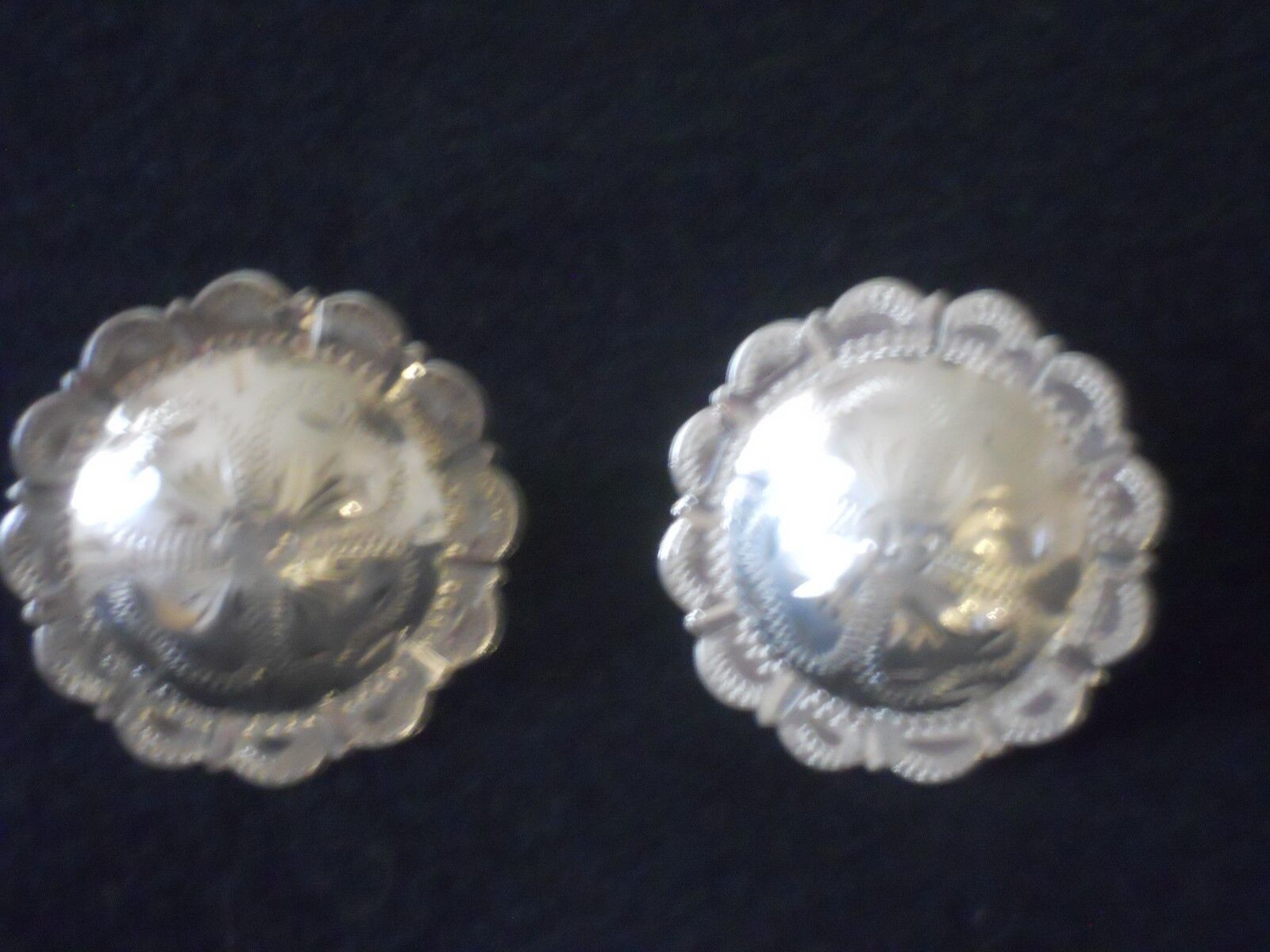 Victor  Leather Goods Sterling Conchos NEW RARE  save up to 70% discount