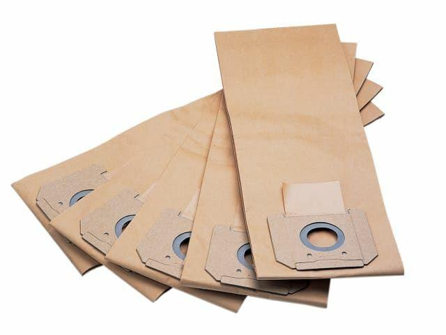 Flex Power Tools - Sacchetti filtro in carta Confezione da 5