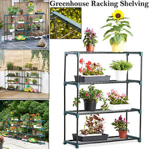4-TIER-FLOWER-STAGING-DISPLAY-GREENHOUSE-STAGING-RACKING-SHELVING-METAL