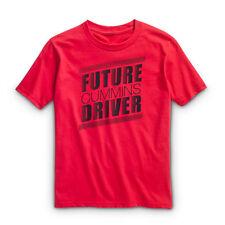 future driver red Cummins short sleeve t shirt dodge diesel child  youth medium