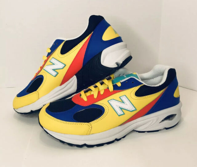 Size 8.5 - New Balance 498 Black/Blue/Multicolor/Yellow for sale ...