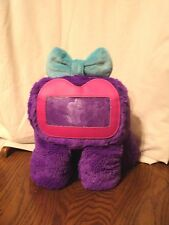 Griffin Fee Woogie Purple Plush IPhone Picture Frame