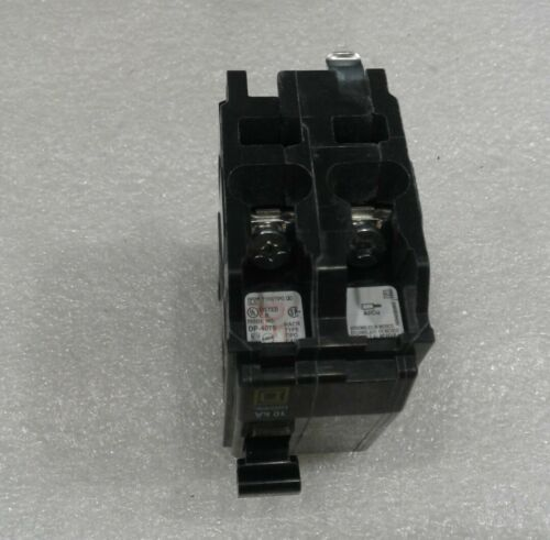 Details about  /QO230 Square D 2 Pole 30A 120//240VAC Plug-In Circuit Breaker NEW