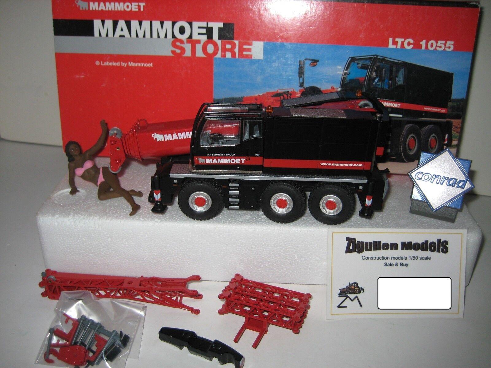 Liebherr Ltc 1055 Car Crane Mammoet  20100.1 Conrad 1 50 Boxed