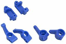 RPM Blue Traxxas Slash 2WD Complete Front & Rear Hub Set 80375 80385 80715
