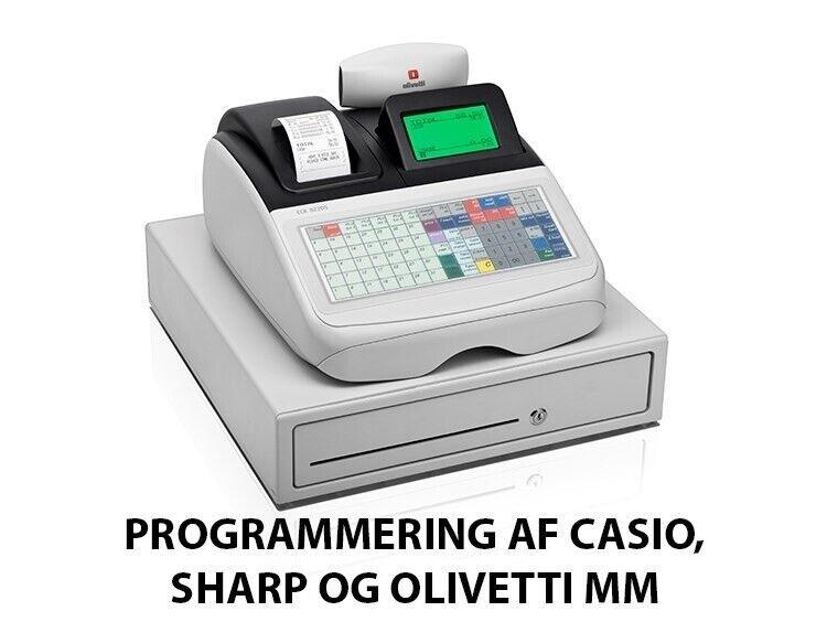 Billig programmering af dit kasseapparat
