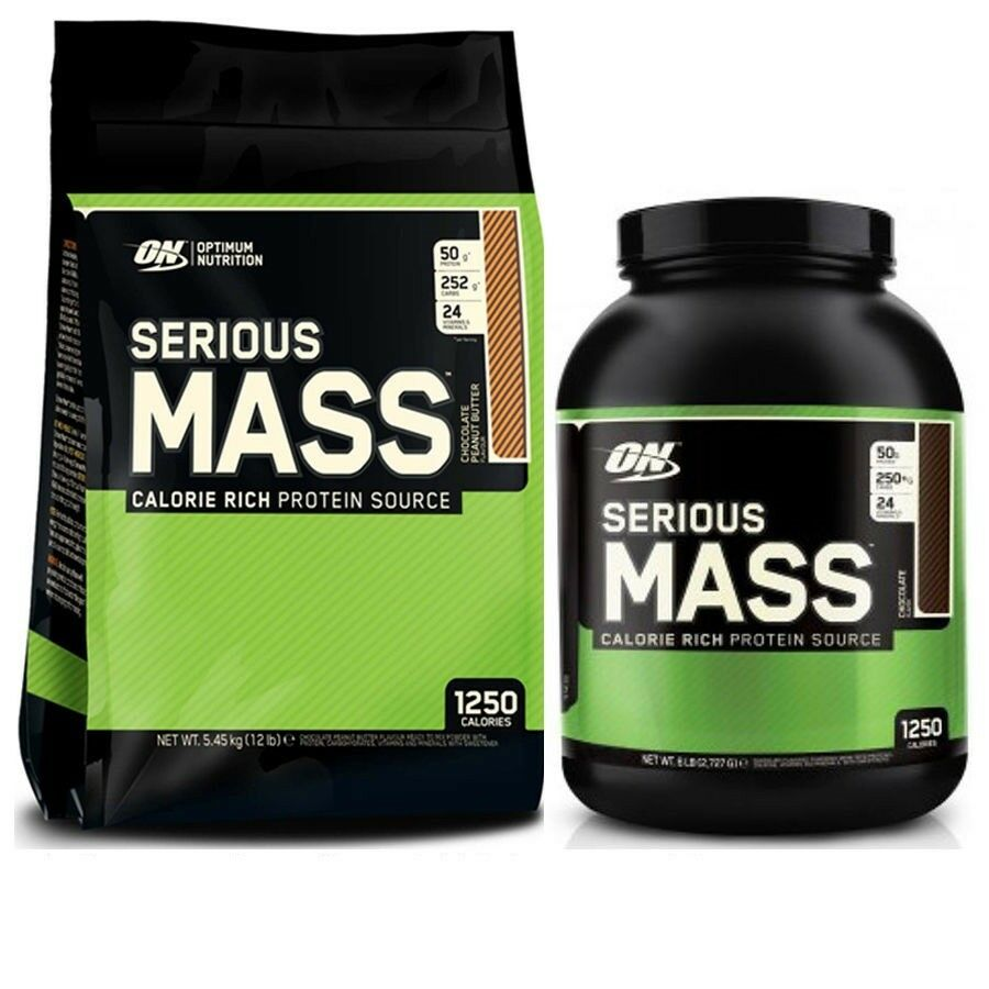 Optimum Nutrition Serious Gain Mass Weight Gain Serious Protein 2.7kg Or 5.4kg All Flavours 48a6e4