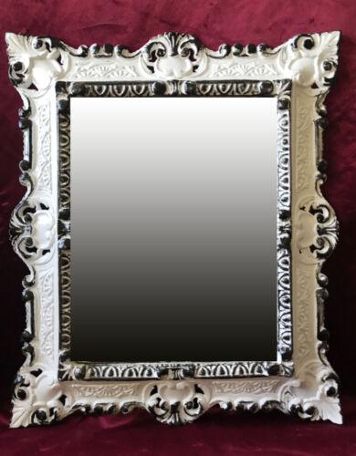 Or Argent 345 Miroir Mural Repro 45x38cm Antique Baroque Réplicas rectangulaire