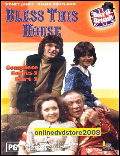 1 of 1 - BLESS THIS HOUSE (COMPLETE Series 2 Part 2) Sidney JAMES BRITISH Comedy DVD NEW