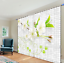 3D Pear Flower Blockout Photo Curtain Printing Curtains Drapes Fabric Window AU