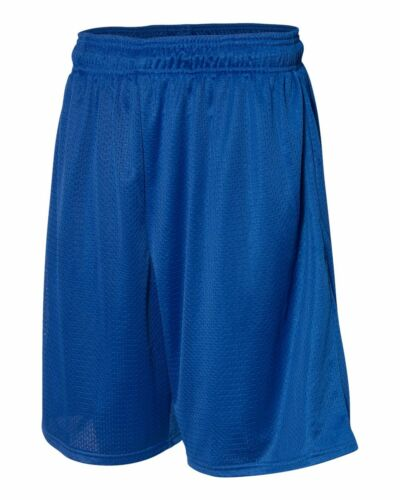 Basketball Men/'s S-XL 2X 3XL Mesh Shorts Gym Soccer Russell Athletic Rugby