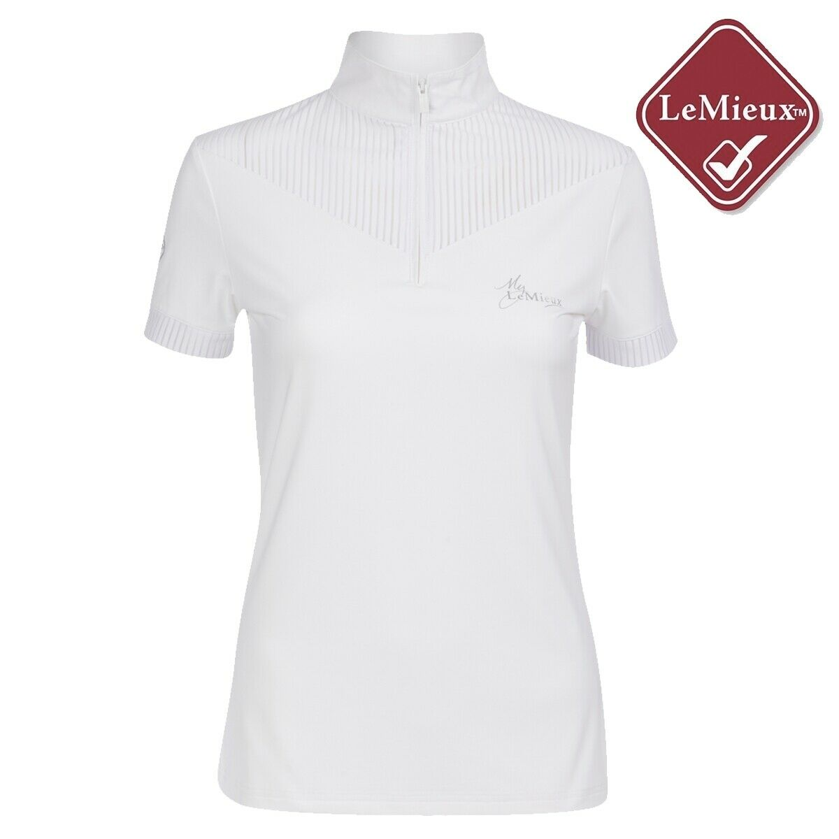 My LeMieux Adrina Show Shirt - White - Free UK Shipping