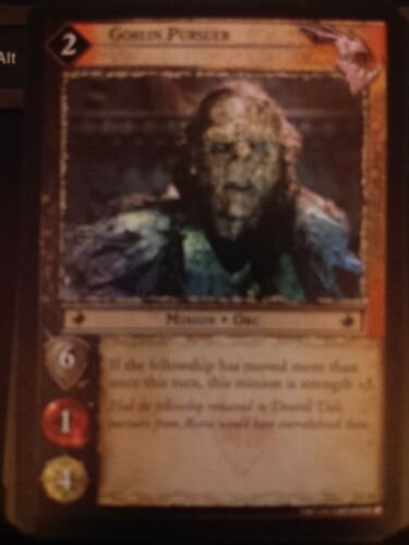 Lord of the Rings CCG Mines of Moria 2C62 Goblin Pursuer X2 TCG LOTR
