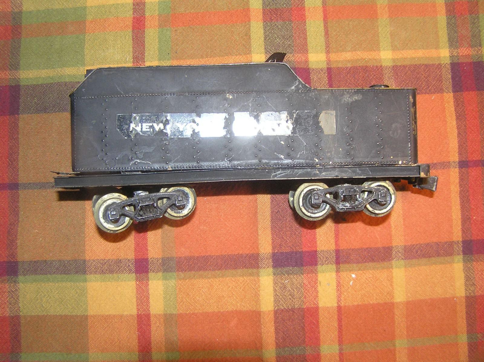 1950's O Scale Brass 2 Rail Tender 8  Long