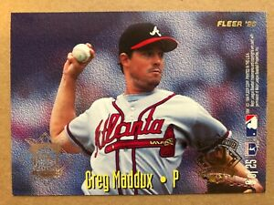 Details About 1995 Fleer All Star 9 Greg Madduxjimmy Key Baseball Card