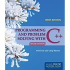 Programming and Problem Solving with C++: Brief by Chip Weems, Nell Dale (Paperback, 2013)